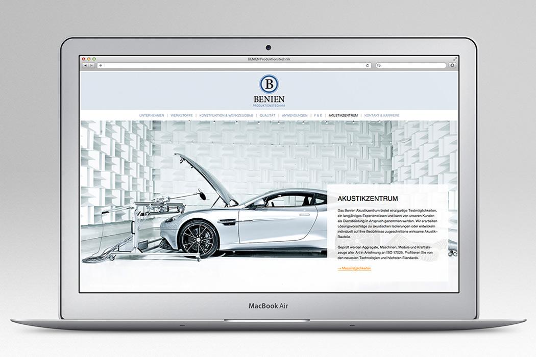 benien-website